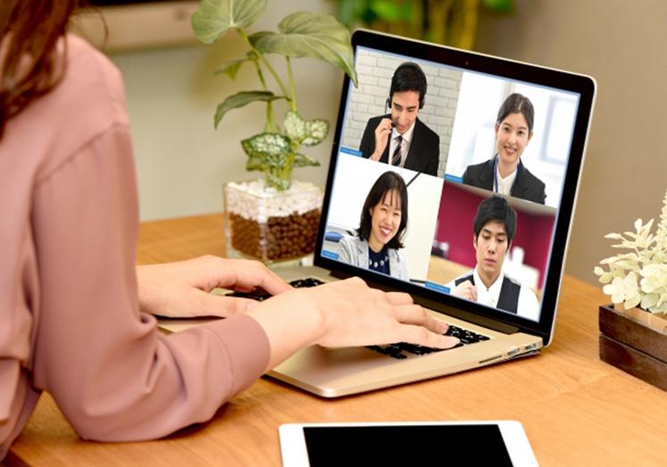 オンライン活用し、効率のよい活動をサポートします。