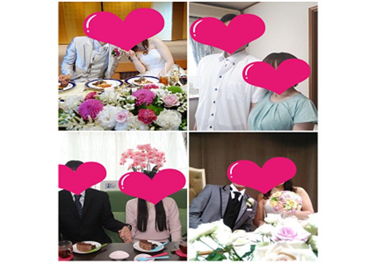 地元の会員様も、他府県からの会員様もたくさんのご夫婦が誕生しました