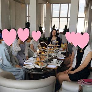 成婚者さんとのお茶会を開催