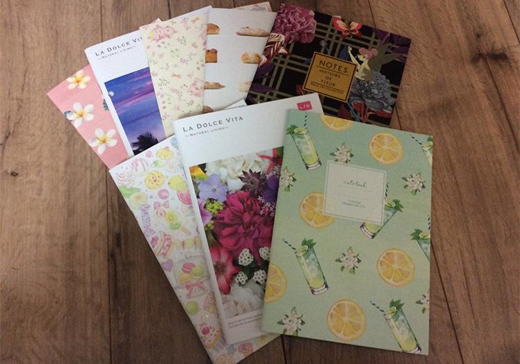 お手製の『婚活ノート』