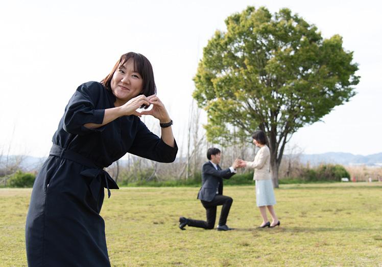 プロポーズは理想のプロポーズをサプライズで!